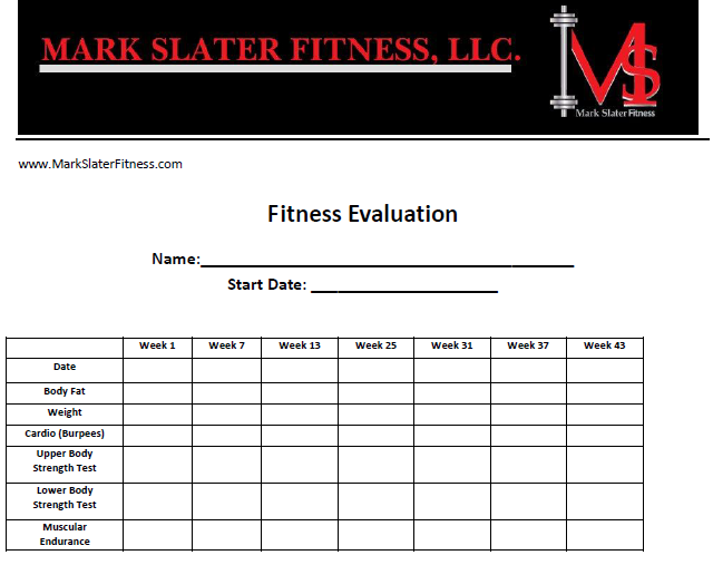 Fitness Evaluation