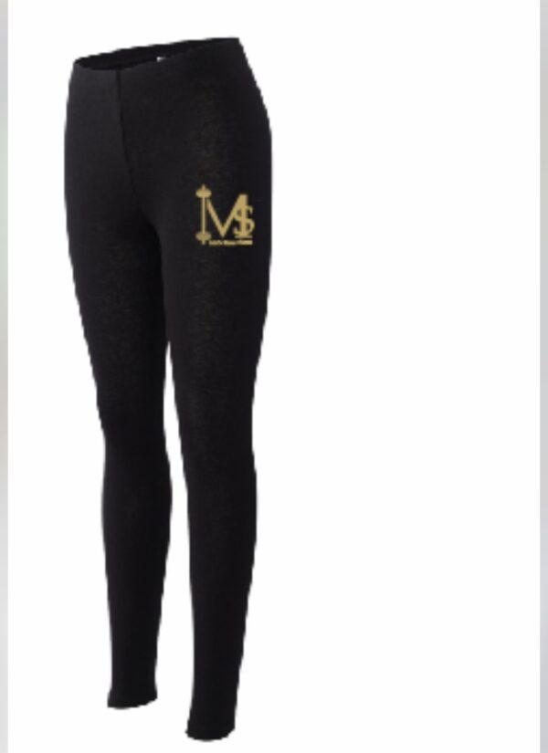 Yoga Pants Small Logo