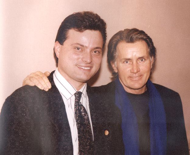 John Ostojic & Martin Sheen