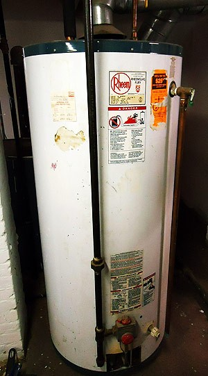 Old Hot Water Heater