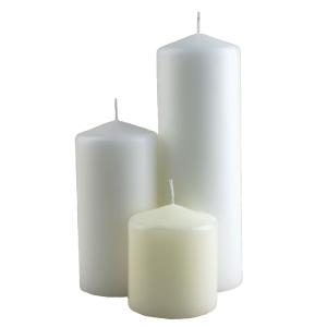 Wax Pillar Candles