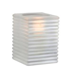 Mini-Cami-Horizontal-Rib-Frost-Block-Table-Lamp