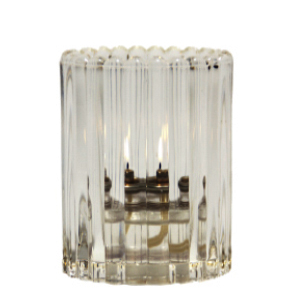 Mini-Vertical-Rib-Clear-Table-Lamp