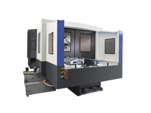 MIC-ALL's machine shop is equipped with a CNC Horizontal Turning Machine