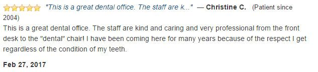 The staff are kind, caring, and professional from the front desk to the dental chair.