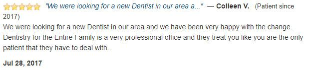 A very professional office and they treat you like you are the only patient that they have to deal with.