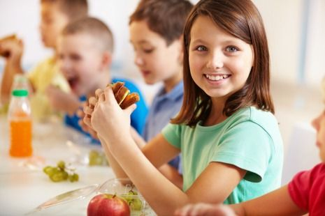 Choose lunch foods low in sugar to prevent tooth decay