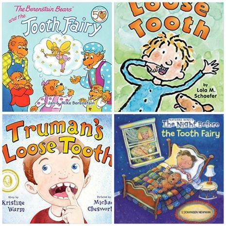 Tooth Fairy Books for Kids 5-8 years old
