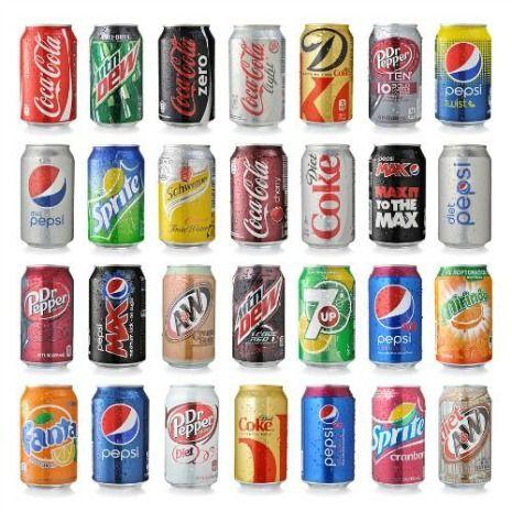 Soft drinks can cause sensitive teeth