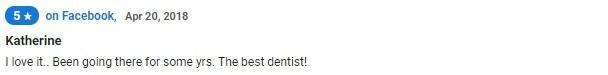 I love it.. Been going there for some yrs. The best dentist!