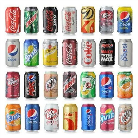 Limit soft drink intake to less than one can daily