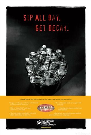 Sip all day, get decay poster