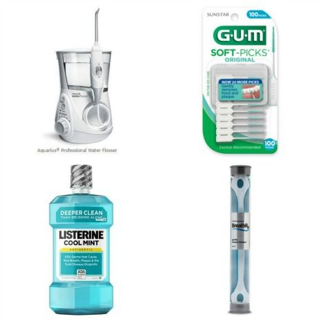 Dental products that help remove dental plaque