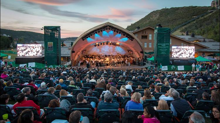 Deer Valley Summer Outdoor Concerts in Utah