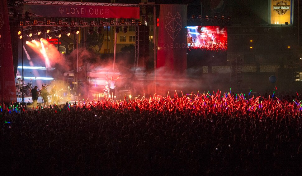 LoveLoud Festival at Usana Amphitheater