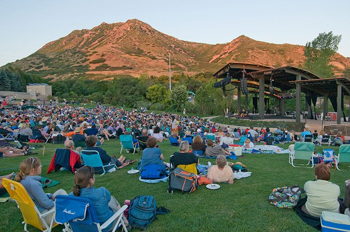 Red Butte Outdoor Concert Series in Salt Lake City, Utah