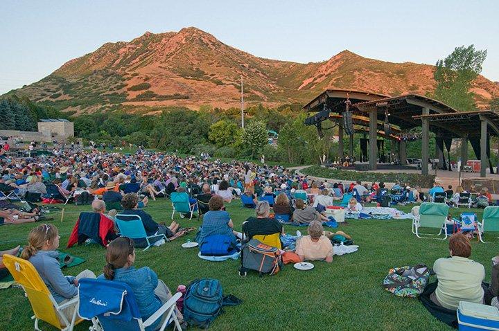 Red Butte Outdoor Concert Series in Salt Lake City, Utah