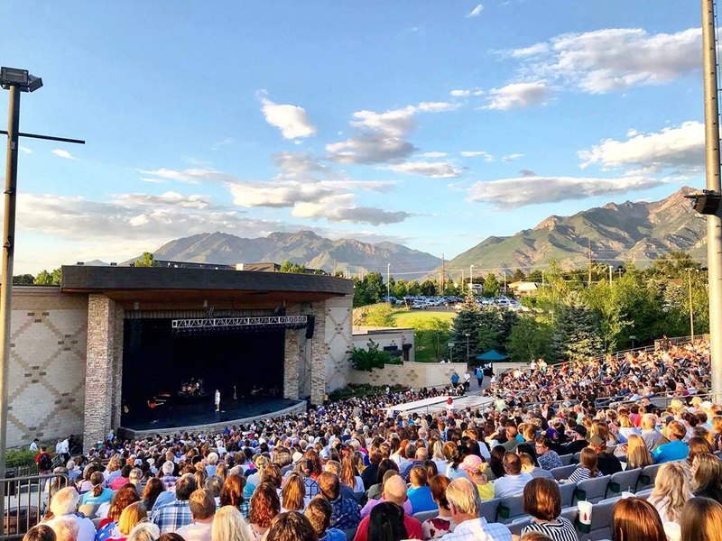 Sandy Amphitheater Outdoor Concerts in Utah