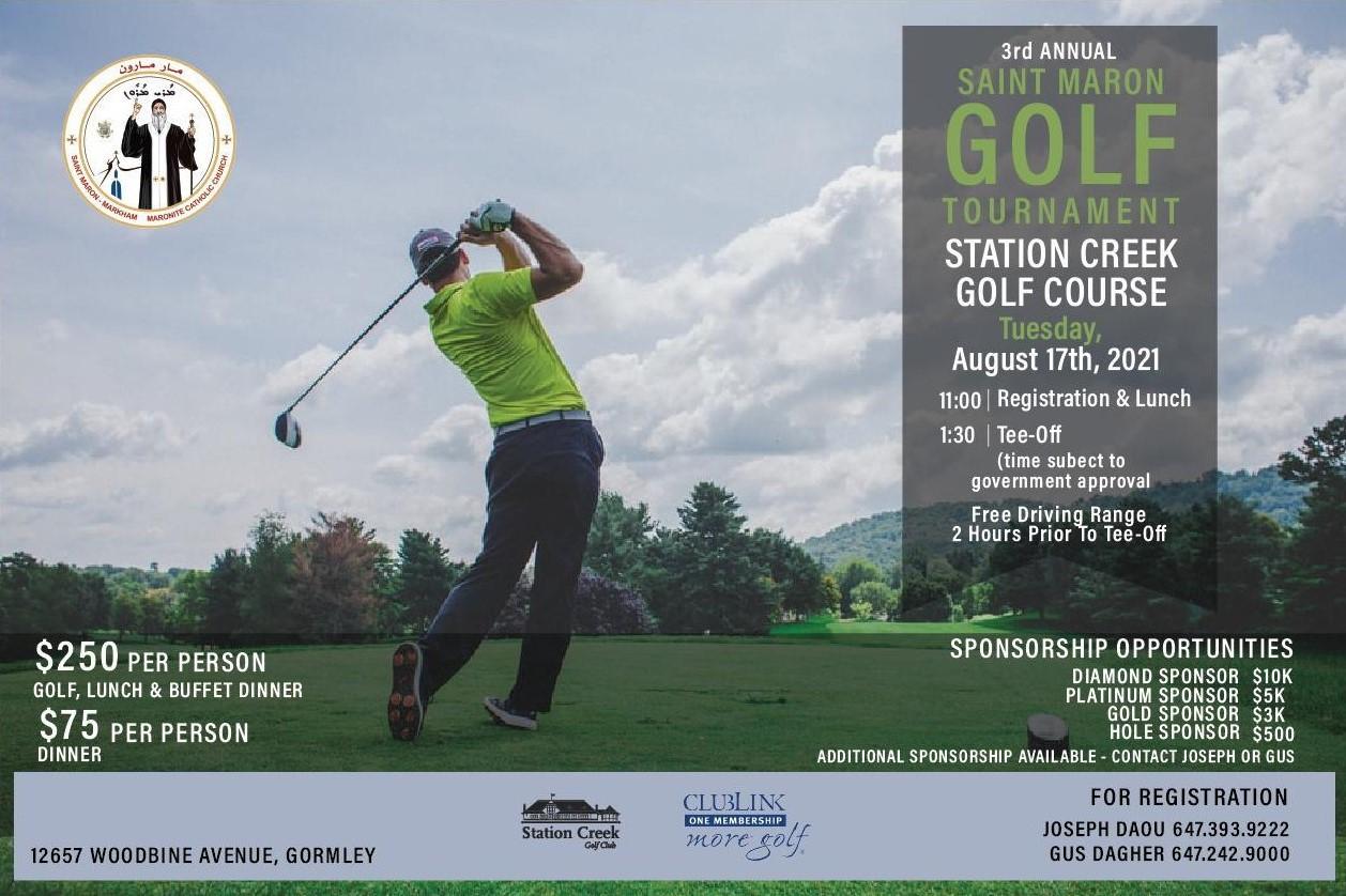 3rd Annual Golf