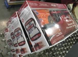 Frist Aid Kits shrinkwrapped
