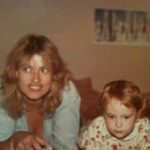 Entrepreneur Carol and baby Jennifer, circa 1982.