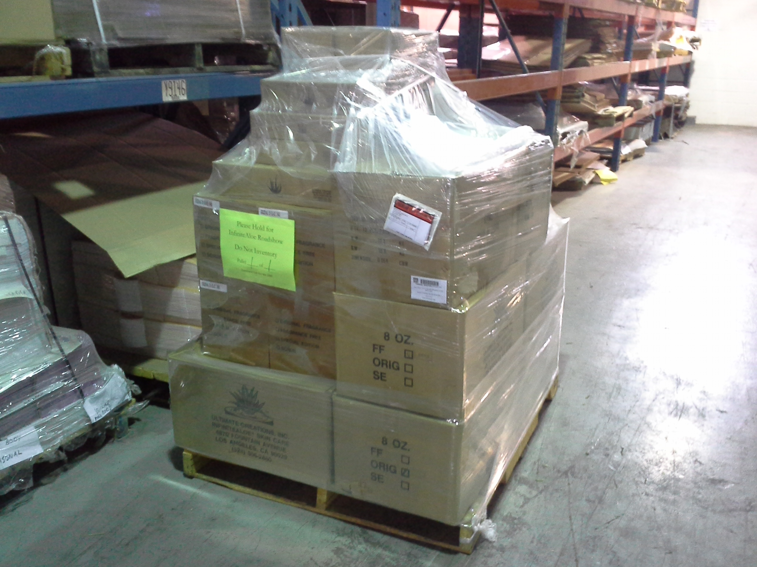 Pick and pack fulfillment for Costco Road Show orders by Repack Canada co-packing