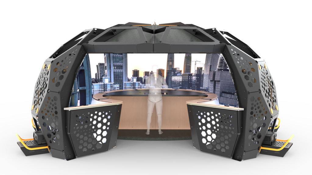 A picture of Station IX, Imagine 4D's immersive solution