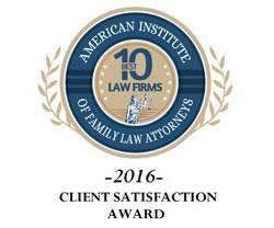 Client Satisfaction Award 2016