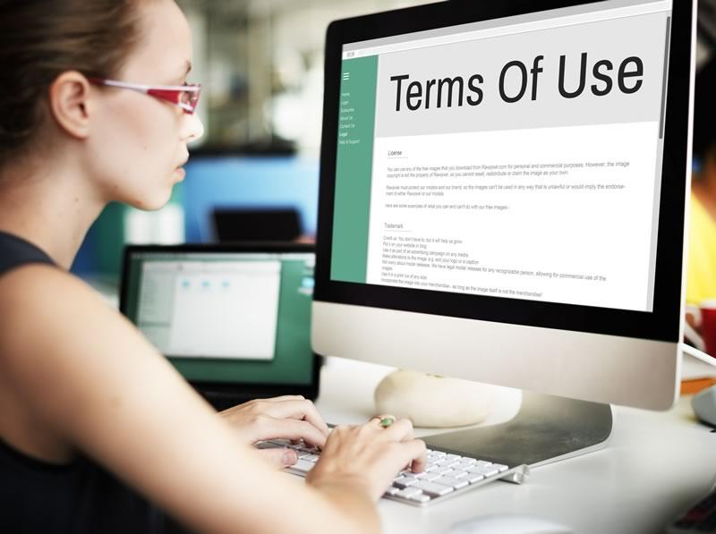 Calla Legal Terms of use for Website