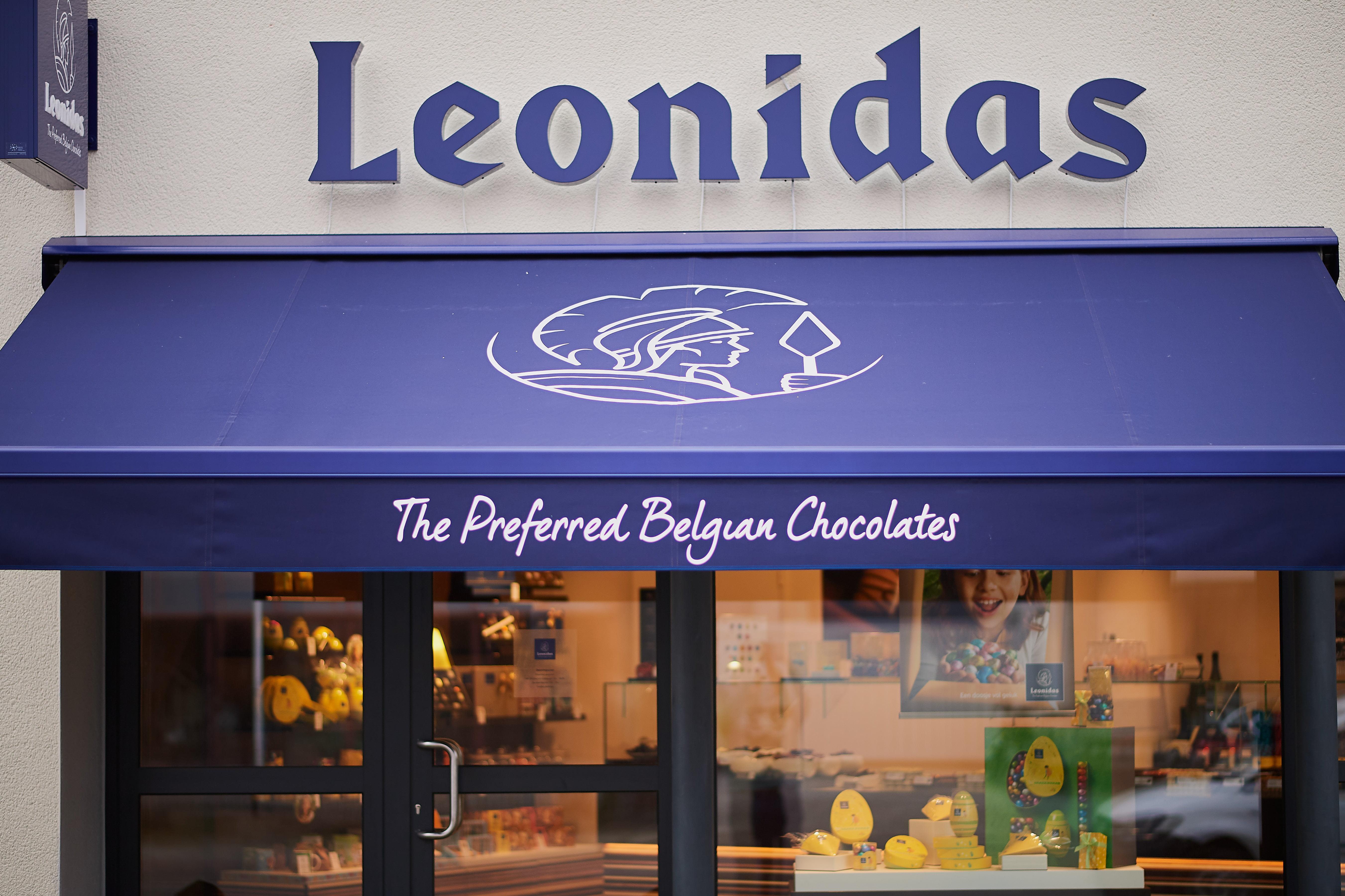 Leonidas storefront belgian Chocolates