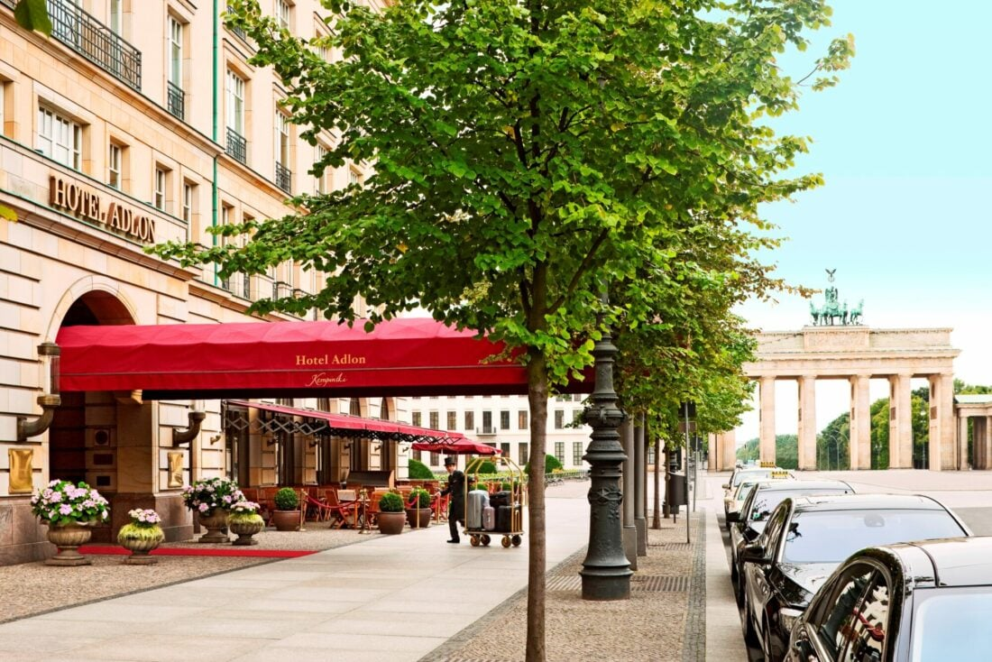 Hotel Adlon Entrance