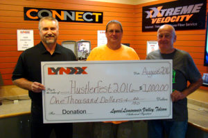 Donation to Hustlerfest 2016 with Jim Costello LYNXX_Doug Bradley_Tom Walsh_Hustlerfest-Sized