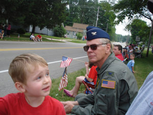 Camp Douglas Armed Forces Day Parade