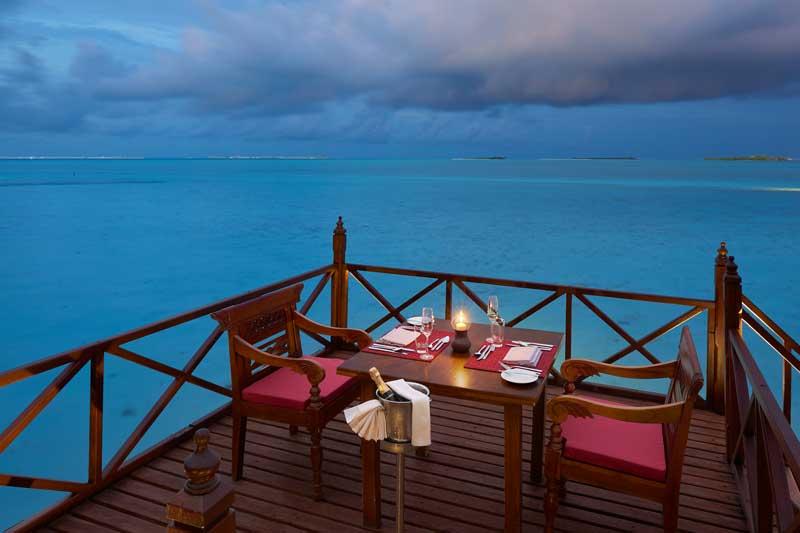 Maldives-Dining