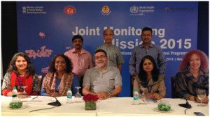 Members of the Joint Monitoring Mission of the RNTCP 2015
