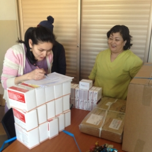 TB drugs being sent out for use in the STREAM study