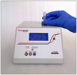 Sample loading for diagnosis of MTB using Trueprep-MAG device ( TrueNat )