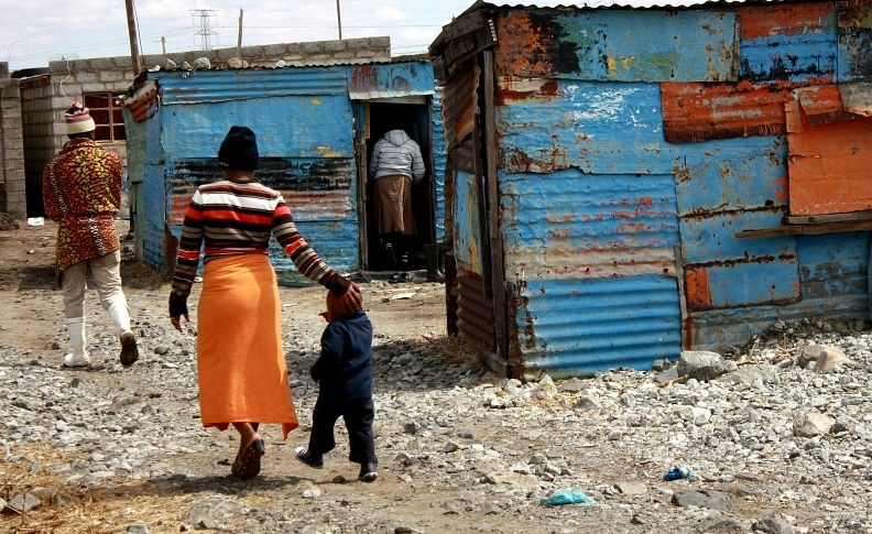 Poor living conditions contribute to the spread of TB in South Africa