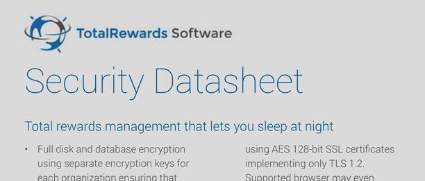 Security Datasheet