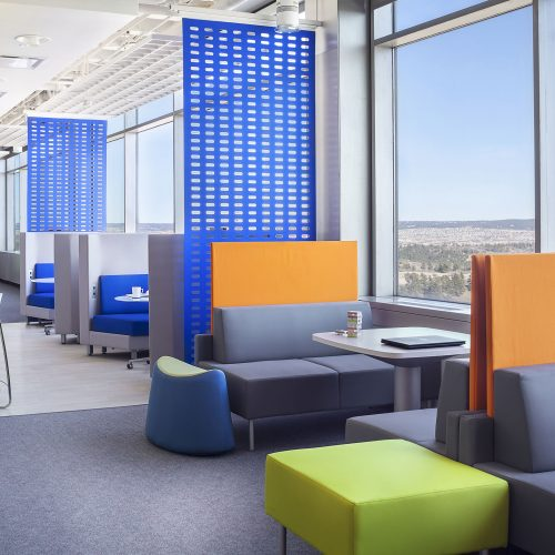 open collaborative spaces