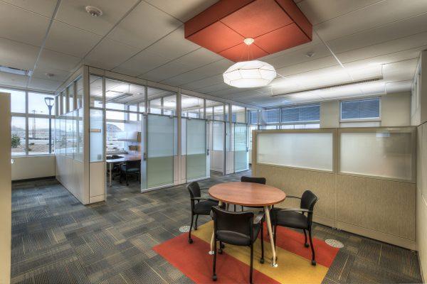 quiet office environment