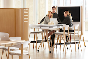 Collaborative Workspace Design - double duty