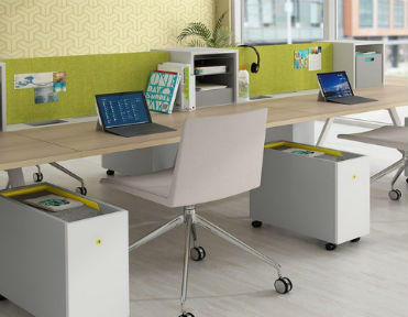 Commercial Office Color Schemes - Green