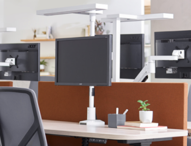 office workstation layout