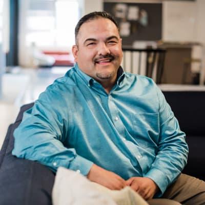 Teammates' Field Project Manager Adam Esquibel