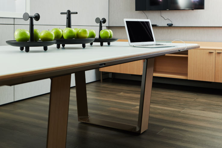 Teknion's C + D Conference Table.