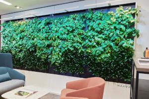Teknion Naava smart walls enhance the office environment.