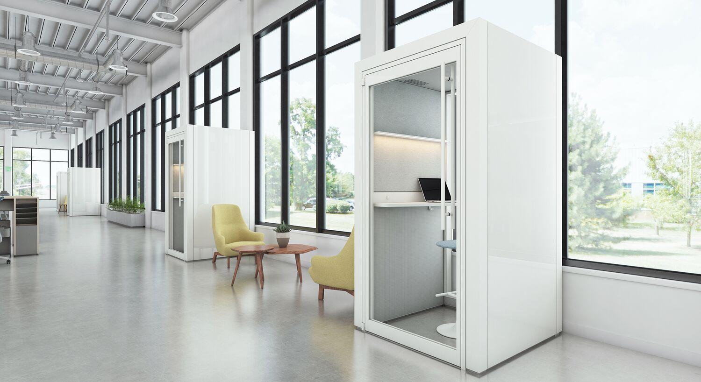 open office floor plan - create private zones