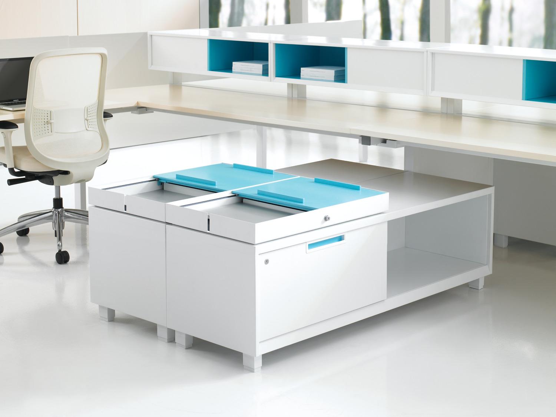 open office floor plan - declutter