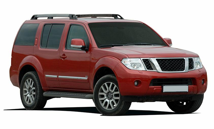 SUV Tinted Windows
